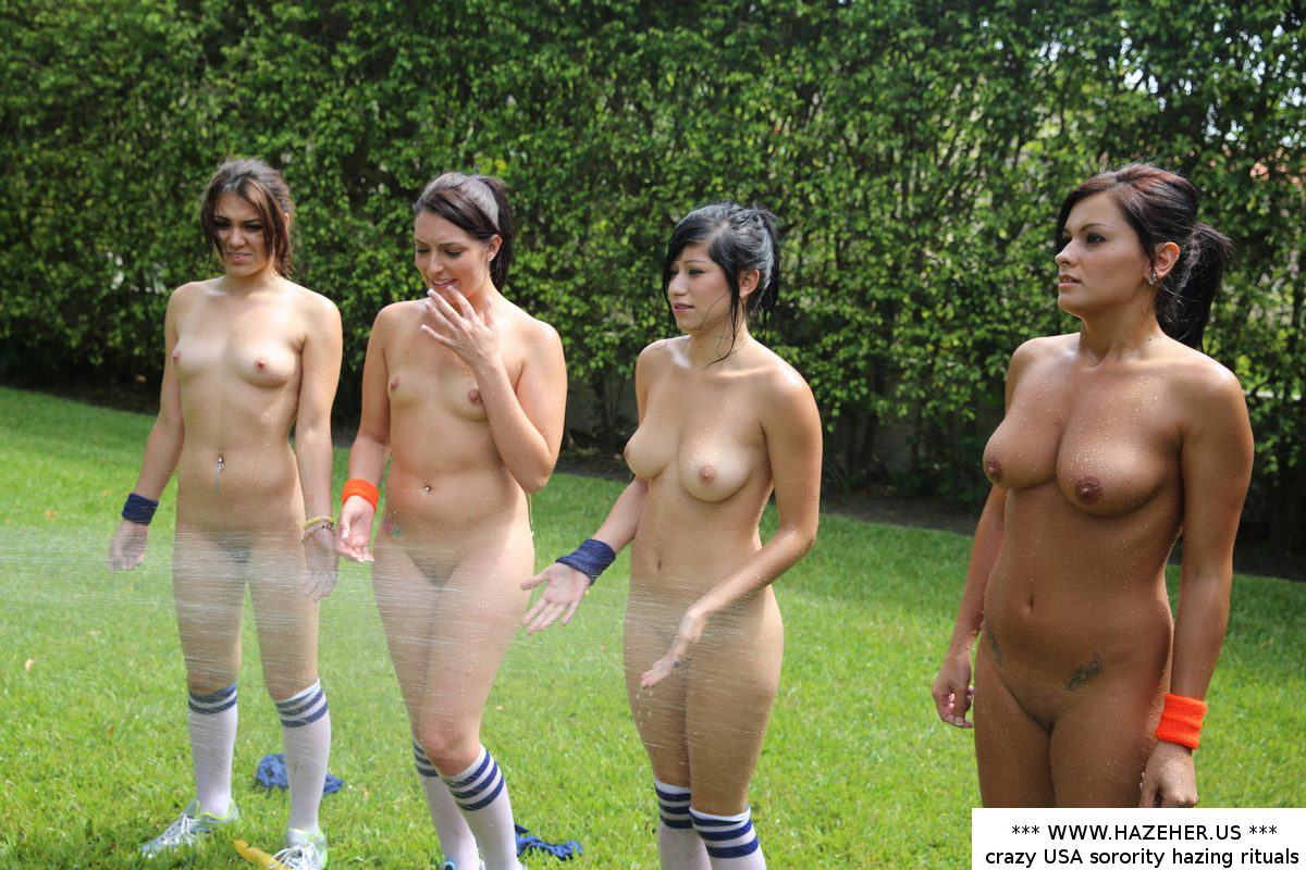 Outdoor Nude College Girl